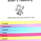 Bloom's Taxonomy Questioning Flip Chart