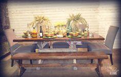 Need a new Farmhouse Table and Chairs? #UFD #urbanfarmhousedesigns #farmhousetable