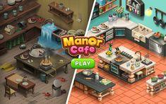 لعبة Manor Cafe مهكرة للاندرويد احدث اصدار 1.113.16 [الأموال تزيد بالإستخدام] Task To Do, Simulation Games, Menu Restaurant, Game Design, Mansions, Poker Table, Abandoned, Boss, Business