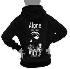 SHERLOCK Hoodie Sweatshirt  Alone is what I have by SummerIsComing, $38.00