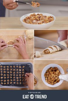 Your newest breakfast obsession is this mini cinnamon roll cereal!