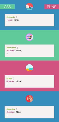 "#CSS.puns { content: ""funny"" }"