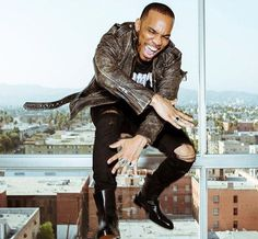 Anderson Paak Covers LA Weekly Wearing Faith Connexion Leather Jacket and Paul Andrew Boots  |  UpscaleHype