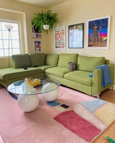 Home Interior Modern Room Ideas Bedroom, Bedroom Decor, Bedroom Sofa, Decor Room, Pastel Room, Pastel Decor, Aesthetic Room Decor, Dream Rooms, Cool Rooms