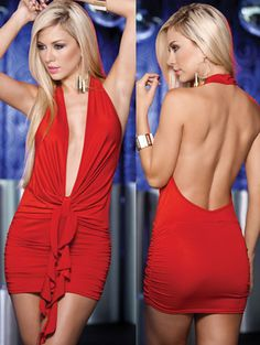 Saucy Red Vegas Dress Vegas Dresses, Sexy Dresses, Casual Dresses, Vegas Attire, Clubwear Dresses, Fancy, My Style, Womens Fashion, Red