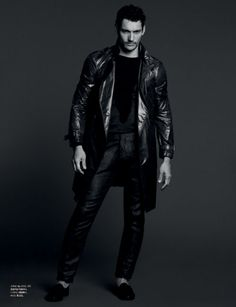 David Gandy is the star of L'Officiel Hommes Korea's March 2012 by David Roemer