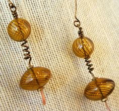 Handmade Vintage Bronze Wirework with Bronze by MLRanchJewelry, $45.00