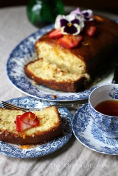 The Charm of Home: Orange Pound Cake