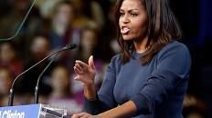 Michelle Obama just delivered what might have been a defining moment of the presidential campaign - LA Times