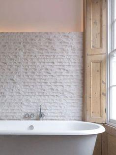 50+ Stylish Farmhouse Bathroom with Brick Wall Decor Inspirations