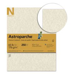 Wausau Paper Astroparche 65-pound Cover Stock