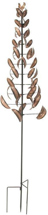 """Bayden Hill Metal Wind Spinner 22""""W, 122""""H"""
