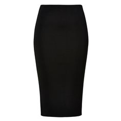 Viscose/Nylon/Elastane Crepe Knit Midi Skirt. Neat fitting silhouette features an internal elasticised waistband with mid length hem in an all over crepe knit fabrication. Available in various colours as shown.
