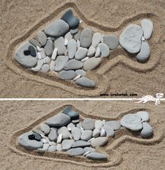 Make beach art with kids- gather materials onsite (nothing living) and take a picture when it's done to send home with them. Don't take anything else with you, leave the art there to encourage conservation! Pirate Activities, Beach Activities, Infant Activities, Activities For Kids, 4 Kids, Art For Kids, Crafts For Kids, Sand Art, Nature Crafts