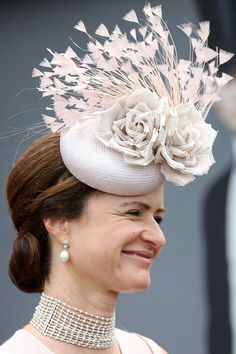 The Most Fabulous Hats from the Royal Ascot- HarpersBAZAAR.com
