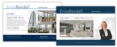 Mail out for Erica Rendell  #Vancouver #Real #Estate #Design #postcard #Branding #Featuresheets #Buyers #Sellers #Packages #Business #Cards #Mailouts #Brochures #Pamphlets #REALTOR #listing #presentations