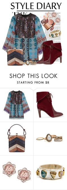 """Без названия #2694"" by ekozlova ❤ liked on Polyvore featuring Anna Sui, Chloé and Jill Haber"