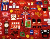 London fabric, KIRSTY