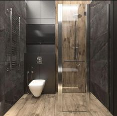 Bathroom Design Luxury, Modern Bathroom Design, Interior Design Kitchen, Modern Small Bathrooms, Toilet Design, Shower Remodel, Bathroom Inspiration, Bathroom Ideas, Bathroom Remodeling