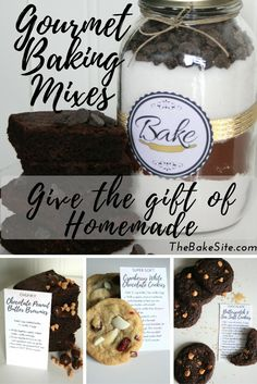 Inspire creativity and give the gift of homemade with Bake's gourmet baking mixes. See the varieties at TheBakeSite.com!