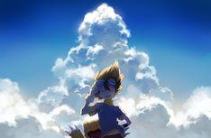 Tags: Fanart, Digimon Adventure, Yagami Taichi, Pixiv, Agumon, Rella, Fanart From Pixiv