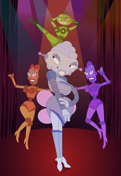 Sexy Futurama Robots by Avalonis