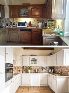 Home Staging Cuisine Bois, Home Staging For Your Kitchen Diy Kitchen Cabinets, Cool Kitchens, Kitchen Cabinets, Kitchen Remodel, Kitchen Decor, Refinishing Furniture, Home Kitchens, Diy Kitchen, Kitchen Design