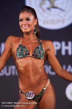 fitness world championship Thailand 2012