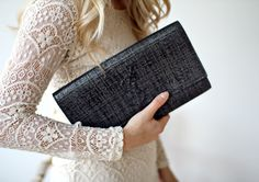 Love the lace but ESP the YSL clutch