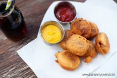 Buns In My Oven » Corn Dog Bites