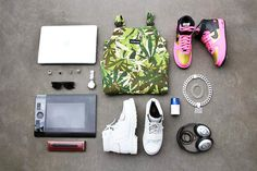 Image of Essentials: Alex Mattsson Damir Doma, What's In Your Bag, Clothes Horse, You Bag, Hypebeast, Essentials, Mens Fashion, Bags, Edc