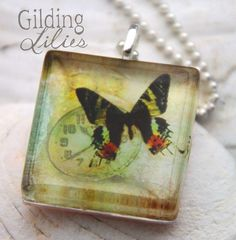 http://www.etsy.com/listing/56377139/time-flies-8-glass-tile-necklace?ref=tre-2073905140-7    http://www.etsy.com/treasury/MTg5OTkzNDd8MjA3MzkwNTE0MA/time-flies?index=2016