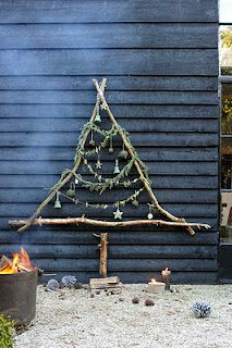 great primitive christmas tree