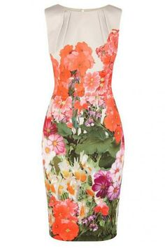 Sleeveless Dresses with floral patterns ❤️