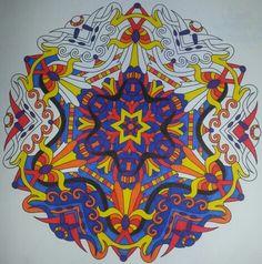 #coloringbook #balance #stressmenders #volume1 #relaxing #Staedtler #TriplusColor #markers #brilliantcolours #art