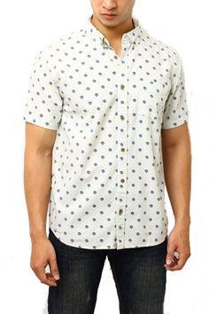 Edberth Shop Kemeja Pria Cotton - Putih - Int:S
