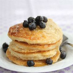 Wheat Free Pancakes #pancakes #breakfast