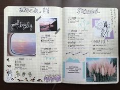 """studypetals: """" 7.5.16+3:30pm // journal unfiltered + comments behind each spread! // wanted to show you guys what my bujo spreads look like with no filters/editing involved. i feel like this would..."""