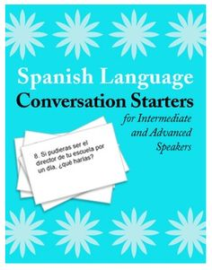 Spanish Conversation Practice: Getting Students to Speak in the Target Language