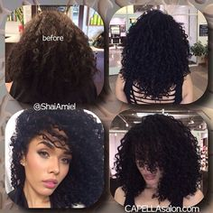 Kreesha Turner came in for a color gloss & haircut with Shai Amiel www.ShaiAmiel.com