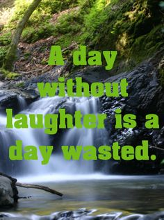 A day without laughter is a day wasted.... - shared via pinterestpicture.com