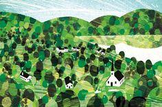 Vermont Landscape - <p>For sale are premium-quality prints on paper or canvas</p>