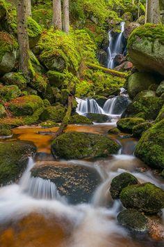 beautiful alpine nature, Alps, Austria, by Arnold Schaffer