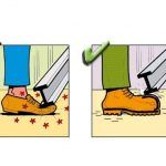 Why safety shoes important. Design Websites, Autocad, Home Design, Safety Cartoon, Safety Pictures, Construction Safety, Industrial Safety, Safety Posters, Electrical Safety