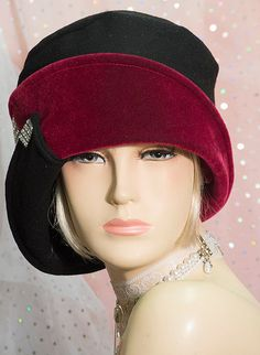 1920s Vintage Inspired  cloche Hat  Great Gatsby by aileens4hats, £65.00