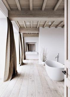modern bathroom design in an old house.such a gorgeous design! Bathroom Inspo, Bathroom Inspiration, Interior Design Inspiration, Bathroom Goals, Bathroom Ideas, Master Bathroom, Bathroom Modern, Small Bathroom, Bathroom Designs