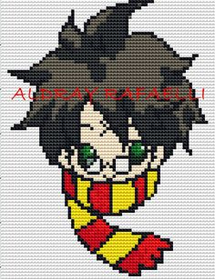 Harry Potter perler bead pattern by Drayzinha