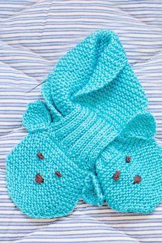 Vauvan neulottu kaulaliina Novita Wool | Novita knits