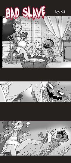 Silent Horror :: Bad Slave | Tapastic Comics - image 1