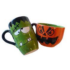 Ghoulish Mugs